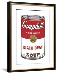 Campbell's Soup I: Black Bean, 1968 by Andy Warhol