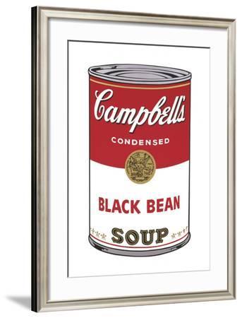 Campbell's Soup I: Black Bean, 1968