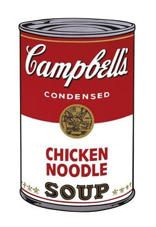 Campbell's Soup I: Chicken Noodle, 1968 by Andy Warhol