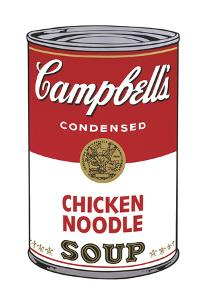 Campbell's Soup I: Chicken Noodle, c.1968 by Andy Warhol