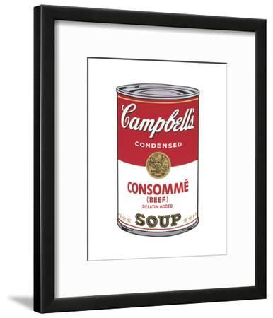 Campbell's Soup I: Consomme, 1968