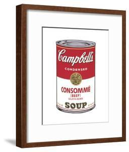 Campbell's Soup I: Consomme, c.1968 by Andy Warhol
