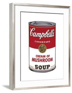 Campbell's Soup I: Cream of Mushroom, c.1968 by Andy Warhol