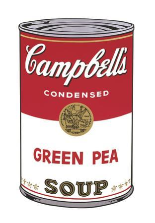 Campbell's Soup I: Green Pea, 1968 by Andy Warhol