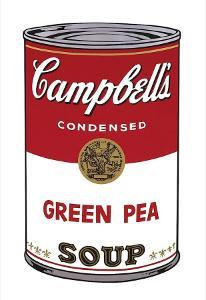 Campbell's Soup I: Green Pea, c.1968 by Andy Warhol