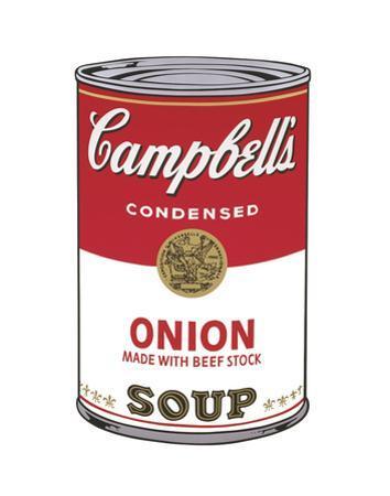 Campbell's Soup I: Onion, 1968