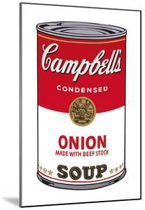 Campbell's Soup I: Onion, c.1968 by Andy Warhol