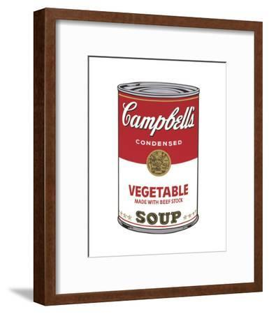 Campbell's Soup I: Vegetable, 1968