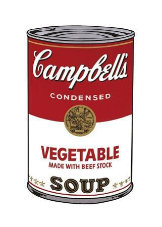 Campbell's Soup I: Vegetable, c.1968