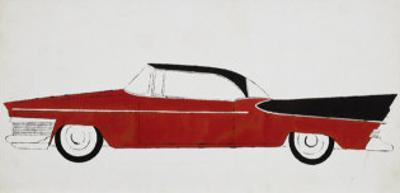 Car, c.1959 (red) by Andy Warhol