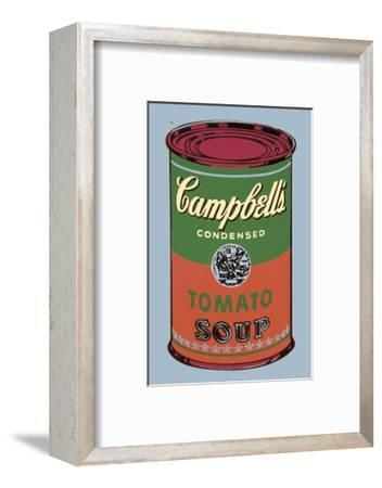 Colored Campbell's Soup Can, 1965 (green & red) by Andy Warhol