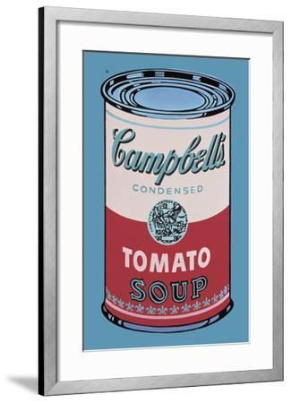 Colored Campbell's Soup Can, 1965 (pink & red)