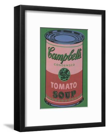 Colored Campbell's Soup Can, 1965 (red & green)