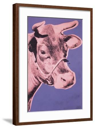 Cow, 1976 (pink & purple)