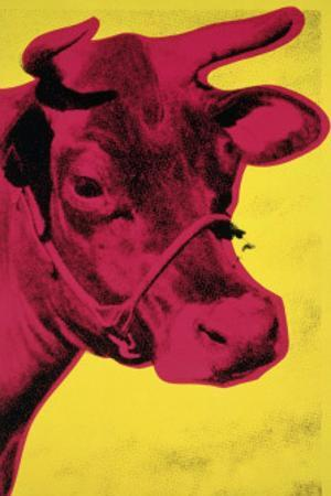Cow, c.1966 (Yellow and Pink)