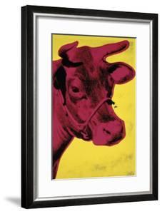 Cow, c.1966 (Yellow and Pink) by Andy Warhol