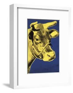 Cow, c.1971 (Blue and Yellow) by Andy Warhol