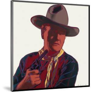 Cowboys and Indians: John Wayne 201/250, 1986 by Andy Warhol