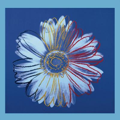 Daisy, c.1982 (Blue on Blue)
