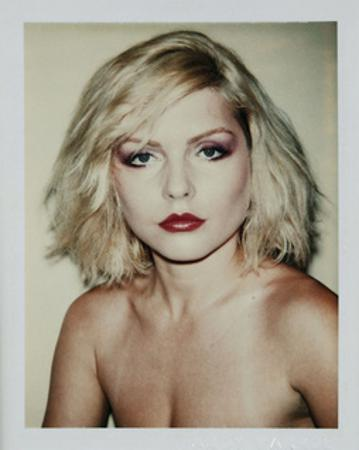 Debbie Harry, 1980 (Polaroid) by Andy Warhol