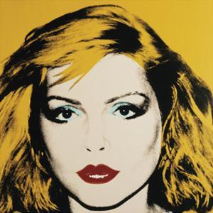 Debbie Harry, 1980 by Andy Warhol
