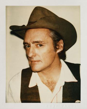 Dennis Hopper, 1977 by Andy Warhol