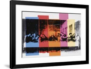 Detail of the Last Supper, c.1986 by Andy Warhol