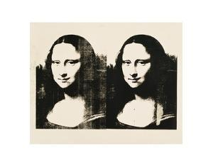 Double Mona Lisa, c.1963 by Andy Warhol
