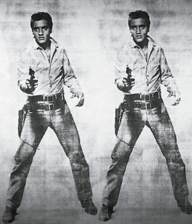 Elvis, 1963 by Andy Warhol