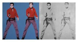 Elvis I and II, 1963-1964 by Andy Warhol