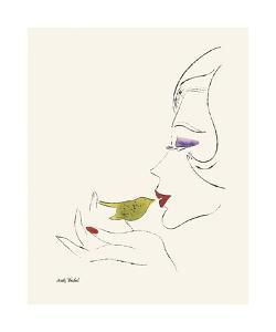 Everybody's Not a Beauty (Bird) by Andy Warhol