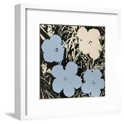Flowers, 1965 (3 blue, 1 ivory)