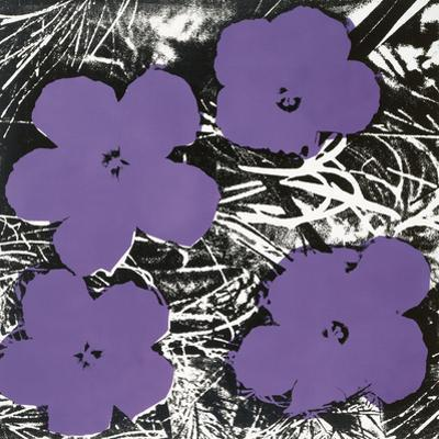 Flowers, C.1965 (4 Purple) by Andy Warhol