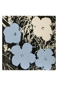 Flowers, c.1965 (Blue, Ivory) by Andy Warhol