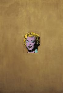 Gold Marilyn Monroe, 1962 by Andy Warhol