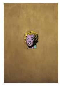 Gold Marilyn Monroe, 1962 by Andy Warhol