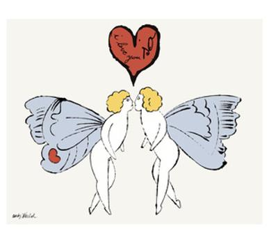 I Love You So, c. 1958 (angel)