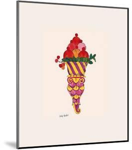 Ice Cream Dessert, c.1959 (Fancy Red) by Andy Warhol