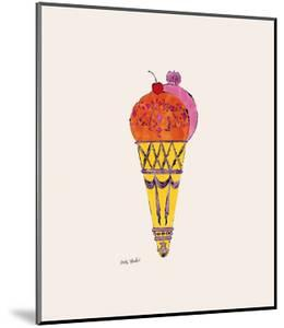 Ice Cream Dessert, c.1959 (Red and Pink) by Andy Warhol