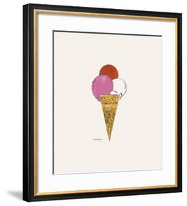Ice Cream Dessert, c.1959 (Red, Pink and White) by Andy Warhol