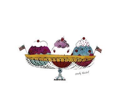 Ice Cream Dessert, c.1959 (Three Scoops)