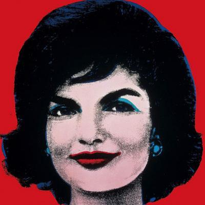 Jackie, c.1964 (On Red) by Andy Warhol