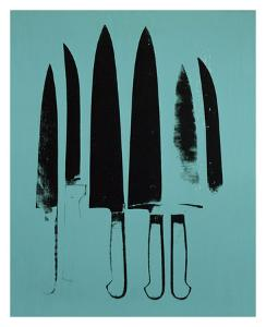 Knives, c. 1981-82 (Aqua) by Andy Warhol