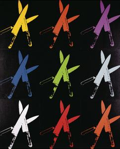 Knives, c.1981-82 (multi) by Andy Warhol