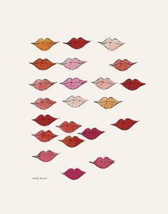 Lips by Andy Warhol