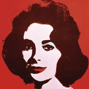 Liz, 1963 (Red) by Andy Warhol
