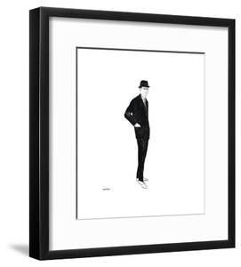 Male Fashion Figure, c. 1960 by Andy Warhol