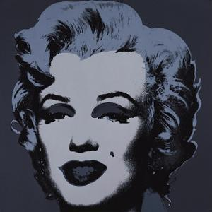 Marilyn, c.1967 (Black) by Andy Warhol