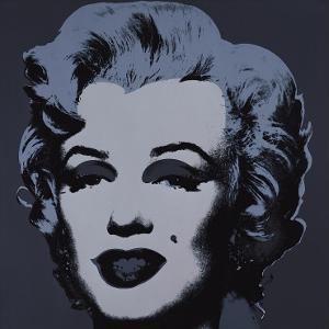 Marilyn, c.1967 (Black) by Andy Warhol