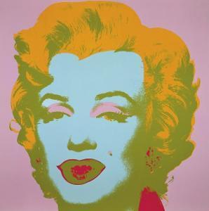Marilyn Monroe, 1967 (pale pink) by Andy Warhol